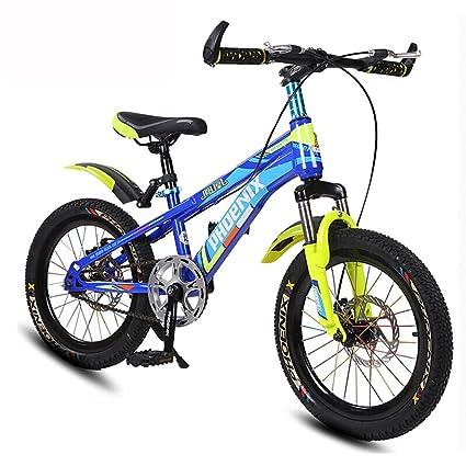 Bicicletta Da Bambino 7 10 Anni Old Mountain Bike 18 Pollici Double