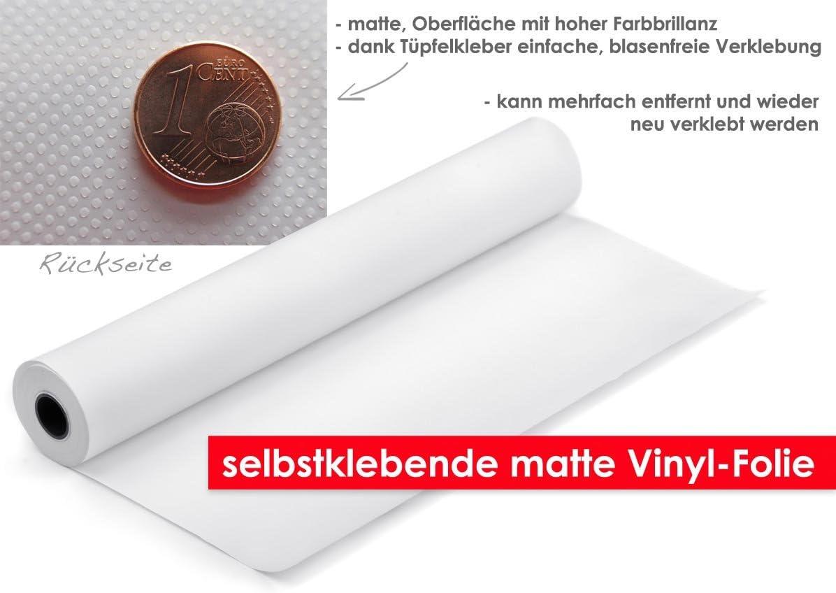XXL-Tapeten T/ürtapete Andriod im Format 90x210cm leicht zu verkleben ohne Blasen von Trendw/ände Selbstklebende Premium Folie