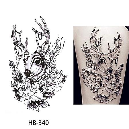 adgkitb Etiqueta engomada del Tatuaje Temporal 3pcs Gorrión HB-340 ...