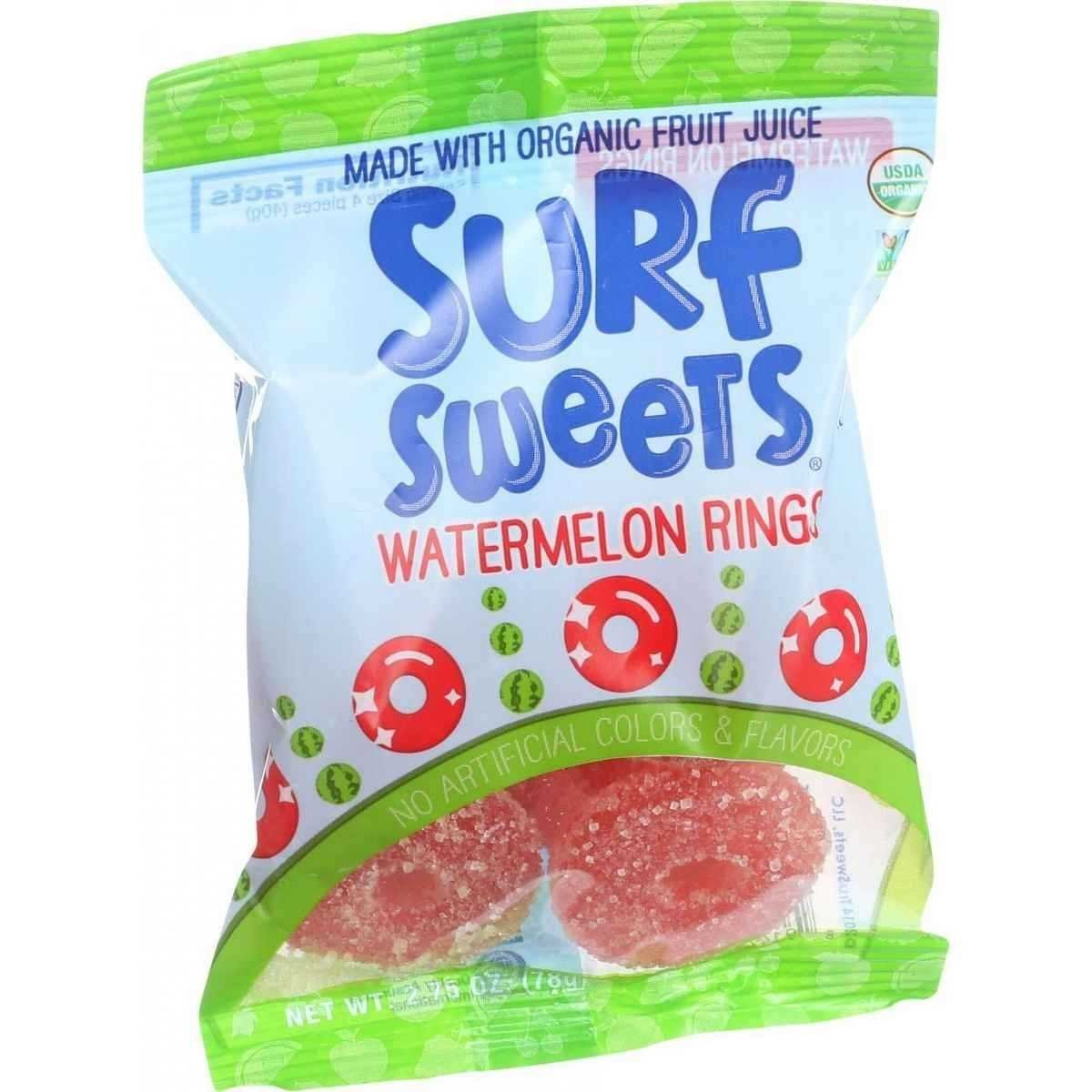 Organic Watermelon Rings 2.75 Ounces (Case of 12)
