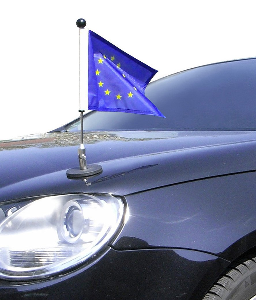 Magnetic Car Flag Pole Diplomat-1