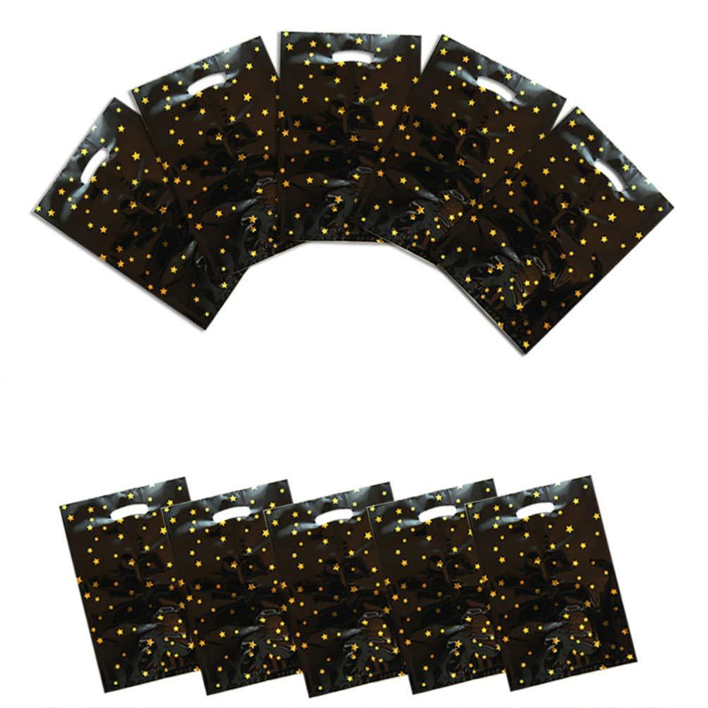 Toyvian 20pcs bolsas de caramelos de estrella bolsas de ...