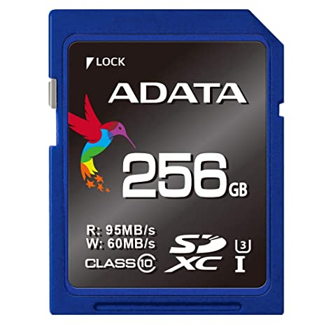 Amazon.com: ADATA 256 GB Premier Pro Secure Digital Extended ...