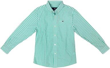 Vineyard Vines - Camisa de Manga Larga con Botones para niño ...