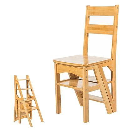 Silla de escalera de madera de paso 4 pasos para cocina ...