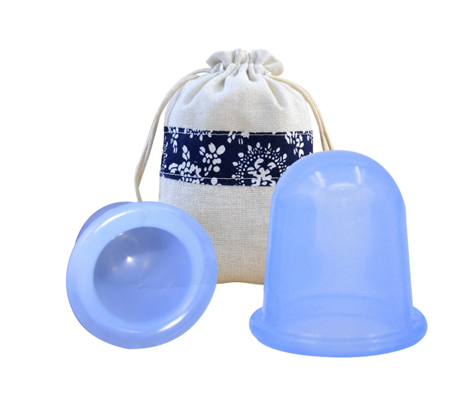 Anti Cellulite Cup for Cellulite Blaster Massage - Silicone Fascia Vacuum Suction Cupping for Muscle, Nerve, Joint Pain Relief