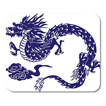 """3128421fa1f3a Semtomn Gaming Mouse Pad Aggressive Japanese Dragon Angry Animal Artistic  Asia Attack Beast Berserk 9.5"""""""