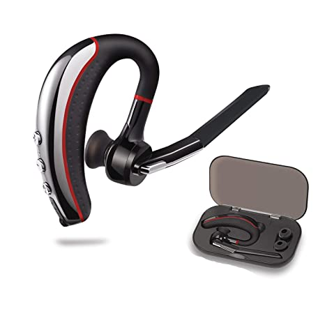 Bluetooth Headset,Wireless Bluetooth Earpiece V4 1 Bluetooth Earbuds  Headphones Lightweight in-Ear Earphones Noise Cancelling with Mic and  HandsFree