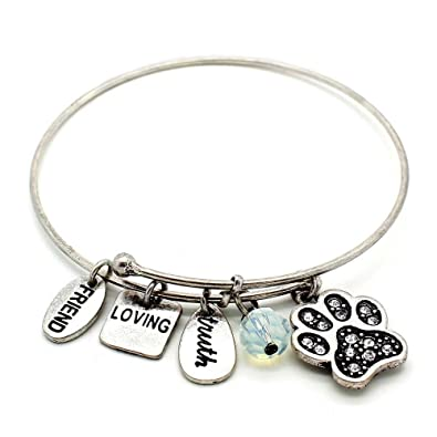 s claire charm under silver the tone sea bracelet