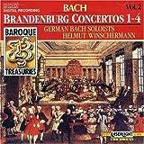 Baroque Treasuries 2: Bach Brandenburg Ctos 1-4