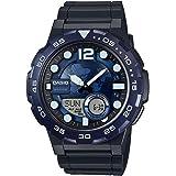 Casio Youth-Combination Analog-Digital Blue Dial Men's Watch - AEQ-100W-2AVDF (AD205)