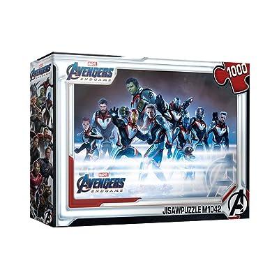 1000Piece Jigsaw Puzzle Marvel Avengers Endgame Team Suit: Toys & Games