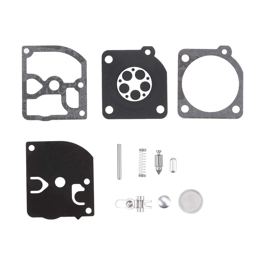 uxcell RB-105 Carburetor Rebuild Kit Gasket Diaphragm for Stihl 021 023 025 Ms210 Ms230 Ms250 Engines Carb