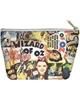 The Wizard of Oz Collage Accessory Pouch White 8.5X6