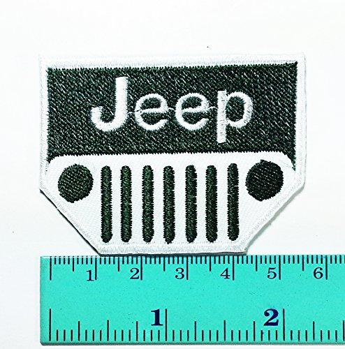 Green Jeep Racing Patch Motorsport Car Racing Sport Automobi