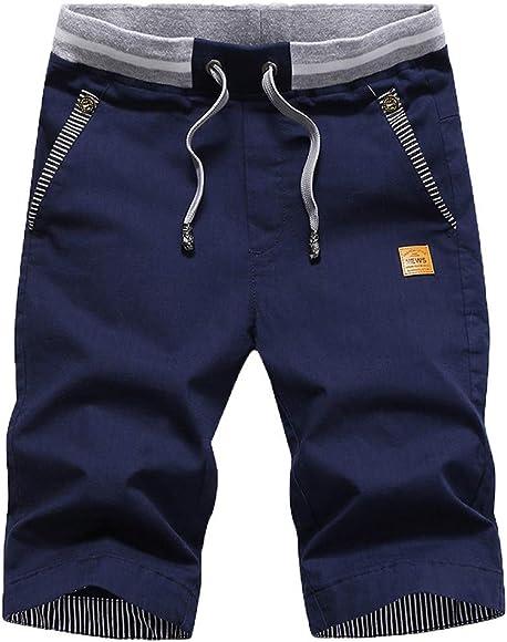 LUNULE Pantalones Cortos Hombre Verano, Nuevo Bermudas Hombre ...