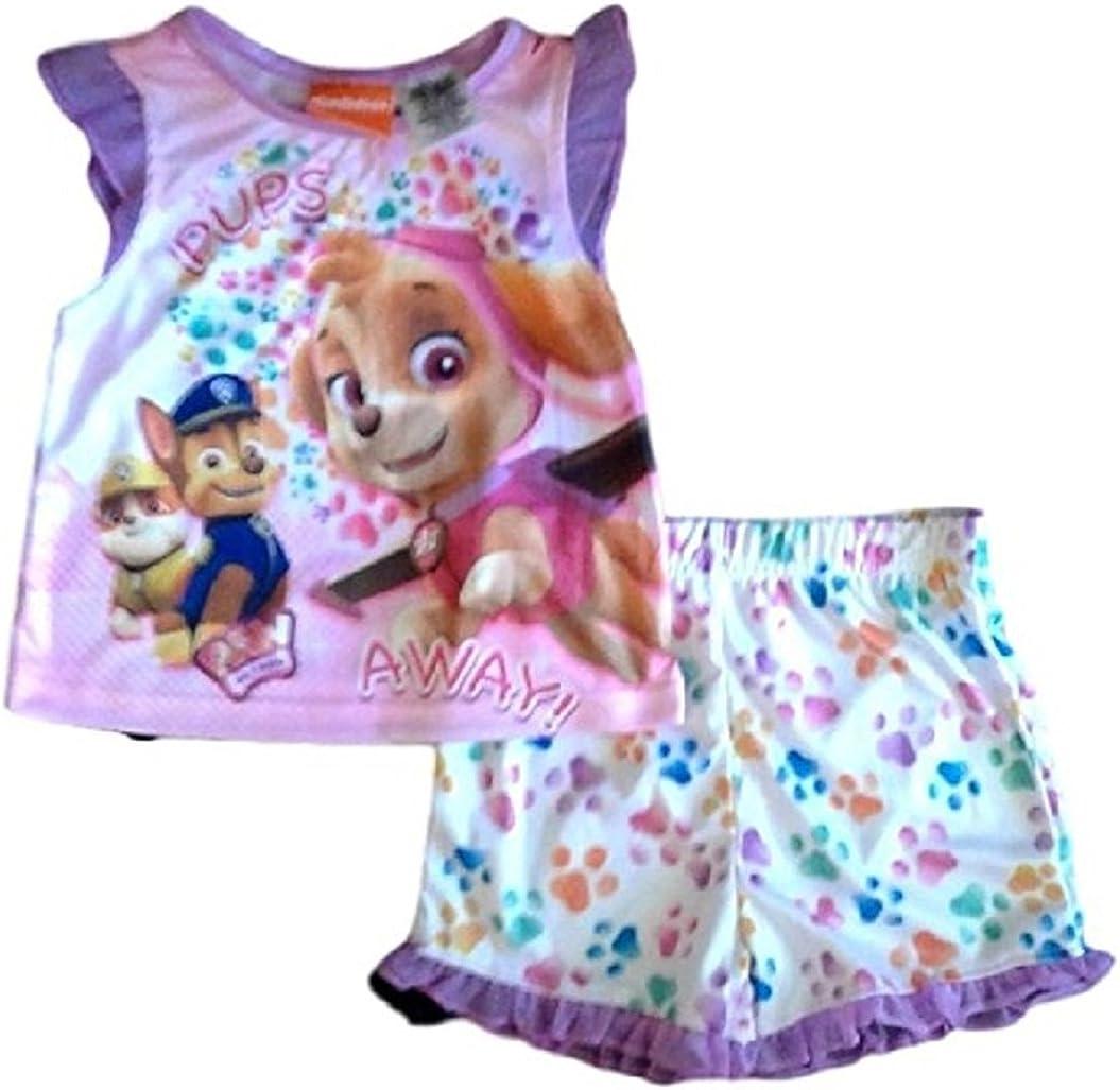 Paw Patrol Girls Pajama Sleepwear