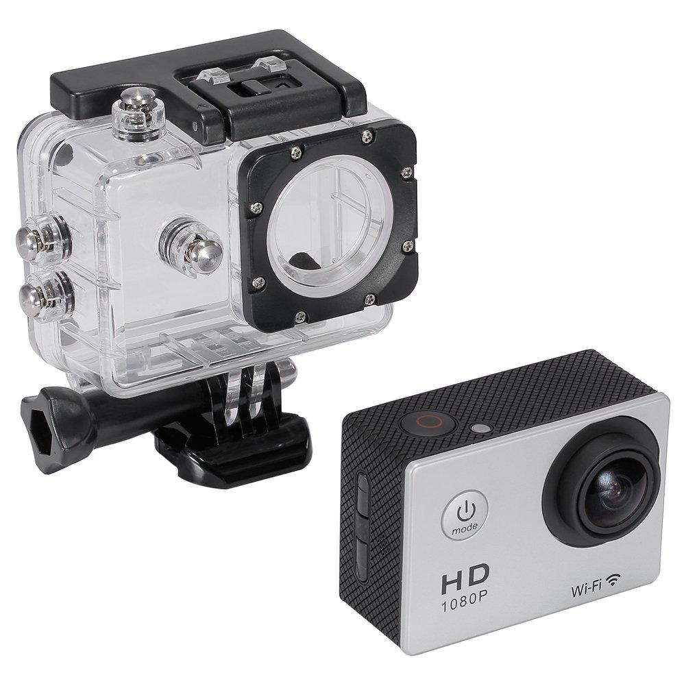Neewer® Kit de 1080P H.264 WIFI Cámara Deportiva con 1,5 pulgadas ...