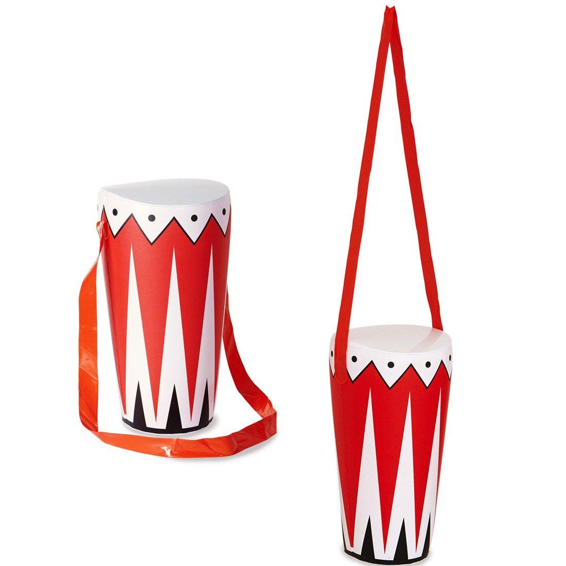 Hinchable de tambor BONGO de la selva Busch tambor decoración zulú ...