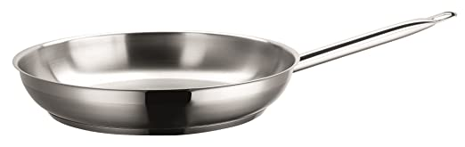 9 opinioni per Domestic Professional, Padella professionale in acciaio 18/10, 32 cm, 0,7 mm, a