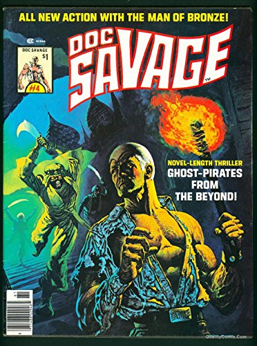 Doc Savage Man of Bronze Magazine #4 VF+ 8.5