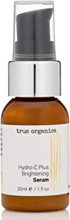 product image for True Organics | Hydro-C Plus Brightening Serum | Organic & Natural | Anti-Aging Serum For Wrinkles, Acne, Scar, Sun-Damage, Dark Spots