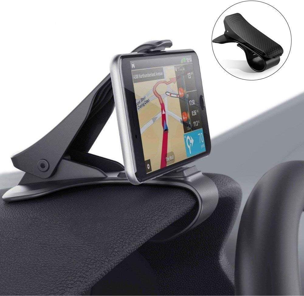 Mpow Soporte M/óvil Coche Universal para Parabrisas Montaje con Ventosa de Gel Fuerte Succi/ón y Brazo Ajustable 360/° Rotaci/ón para iPhone 7//7Plus//6//6s//6 Plus//SE//Android Smartphone GPS Navegador