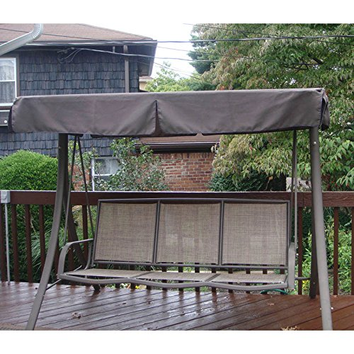 Fortunoff Backyard Furniture: 3-Person Sling Swing Replacement Canopy