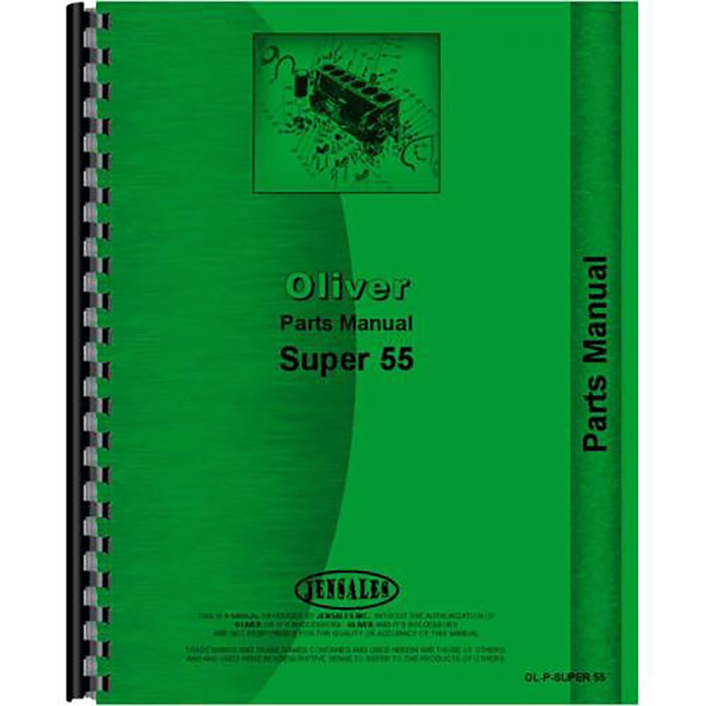 Oliver Parts Diagram Electrical Wiring Diagrams 1600 New Super 55 Tractor Manual 0633632694585 Amazon Com 4240 Plow