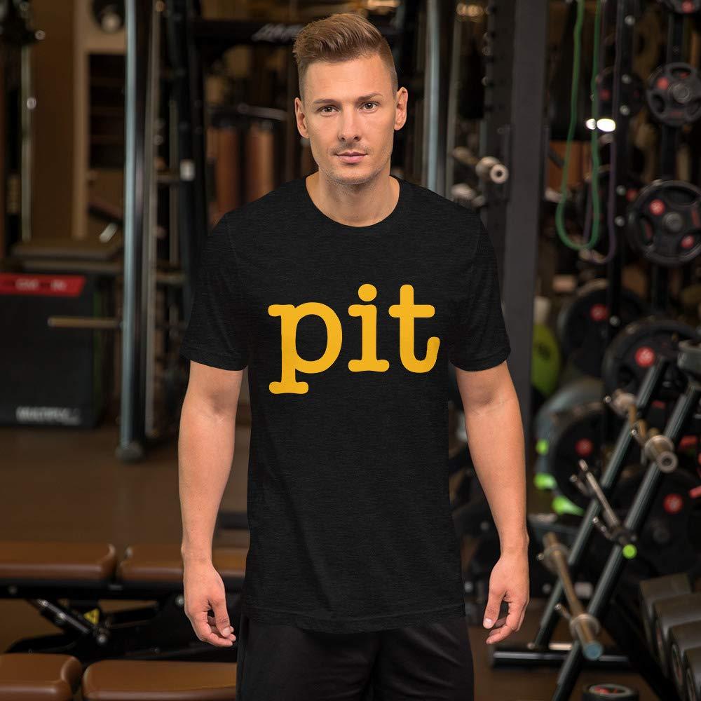 Stadium Prints Pittsburgh Pit Short-Sleeve Unisex T-Shirt