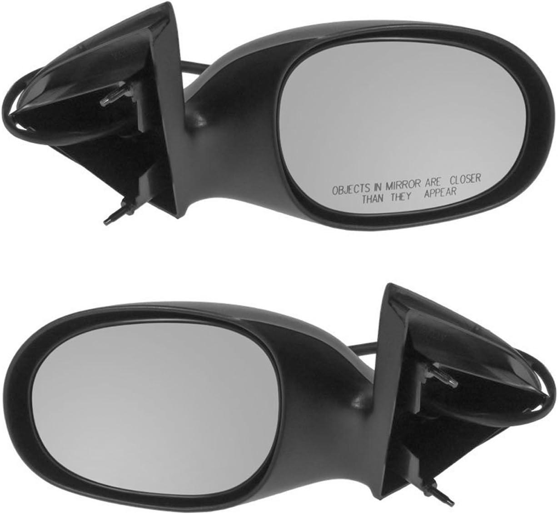 Amazon Com Power Side Mirrors Left Lh Right Rh Pair Set For 98 04 Dodge Concorde Intrepid Automotive