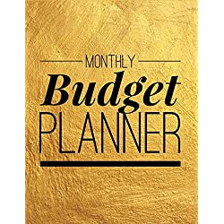 Monthly Budget Planner: Gold Vintage Design Personal Money Management With Calendar 2018-2019 Step-by-Step Guide to track your Financial Health (Monthly Budget Planner and Bill Tracker)
