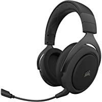 Corsair HS70 Pro Wireless Gaming Headset 7.1 Surround Sound Headphones for PC Carbon Model CA-9011211-NA