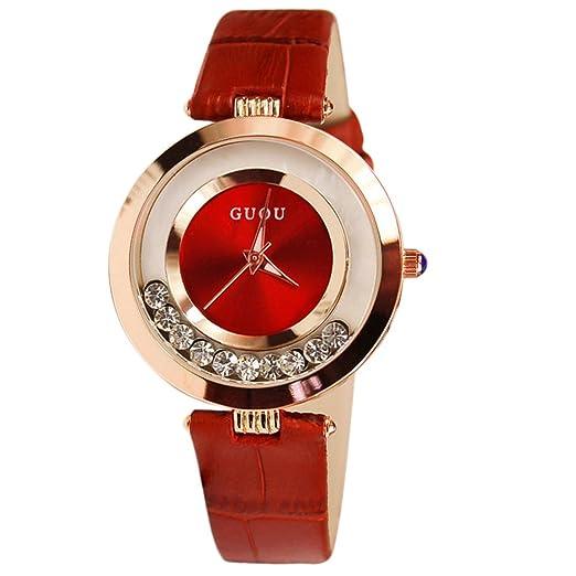 Marca diamantes de imitación y brillantina reloj mujer relojes lujo Rhinestone de la mujer relojes reloj de reloj de pulsera para mujer, ...