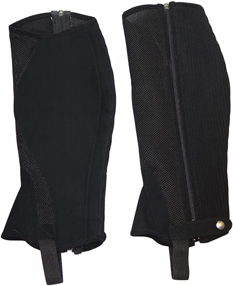 TuffRider Childrens Airflow Synthetic Half Chaps