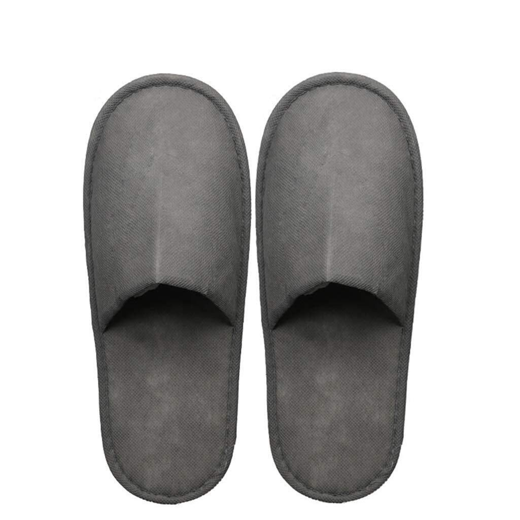 LBWT Hotel Guest Slippers - Disposable Non-Woven Non-Slip Thicken Slippers Home Spa Party Hotel Travel 15 Pairs by LBWT