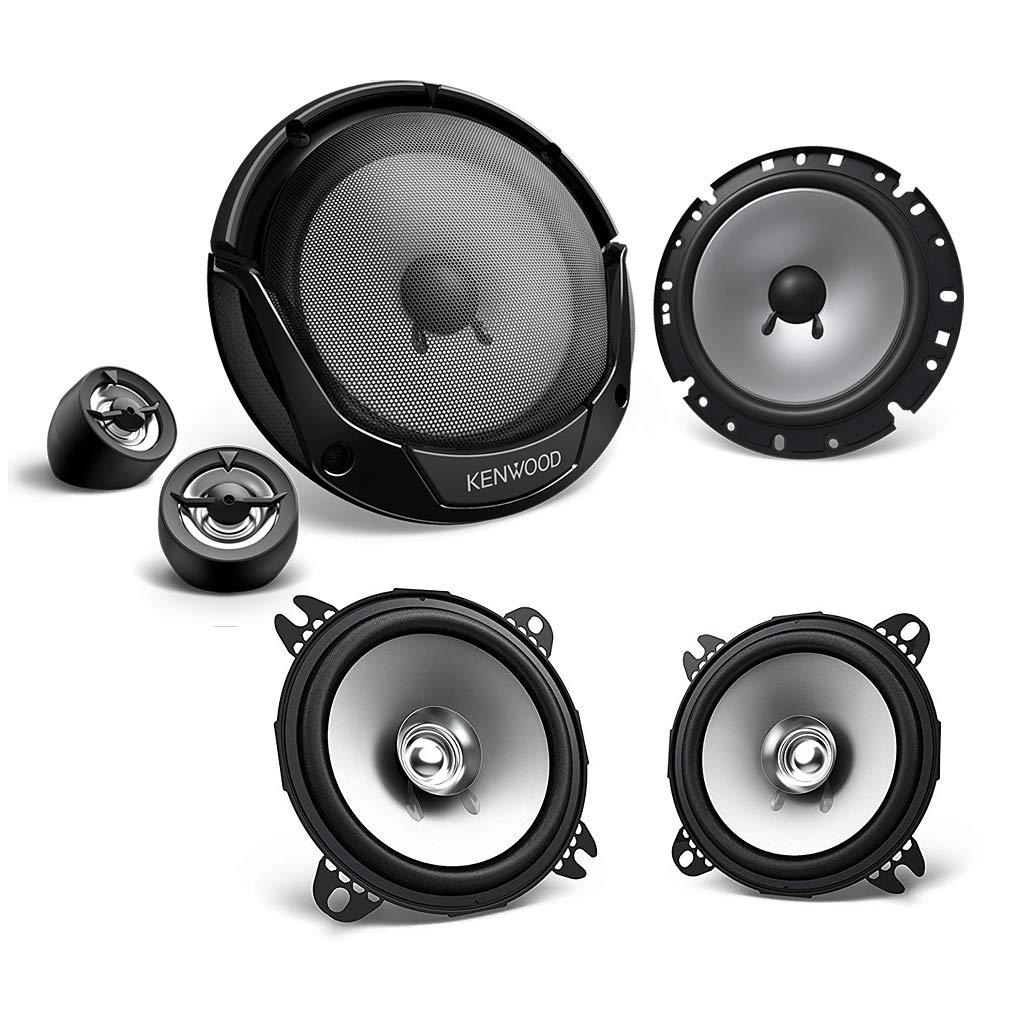 Kenwood Front/Heck 16, 5cm/10cm Auto Lautsprecher/Boxen/Speaker Komplett-Set fü r FIAT Mediadox Ltd. LS-FIAT-SET-002