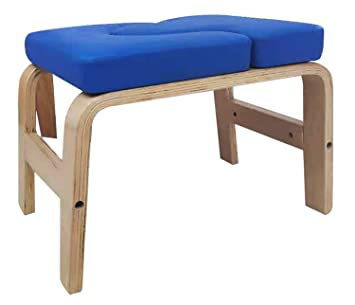 BigTree Yoga Headstand Bench Wood and PU Pad Steady Inversion Chair