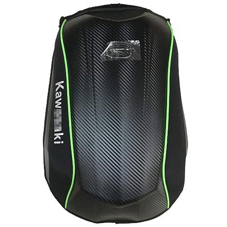 Mochila para casco de motocicleta a prueba de agua Bolsa de almacenamiento para montar en bolsa de gran capacidad y para 30L Mochila para motocicleta Impermeable Mochila de c/áscara dura