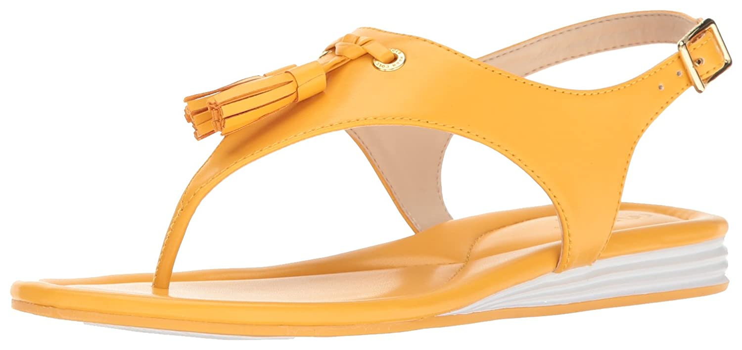 Cole Haan Womens Rona Grand Flat Sandal Nectar Size 110