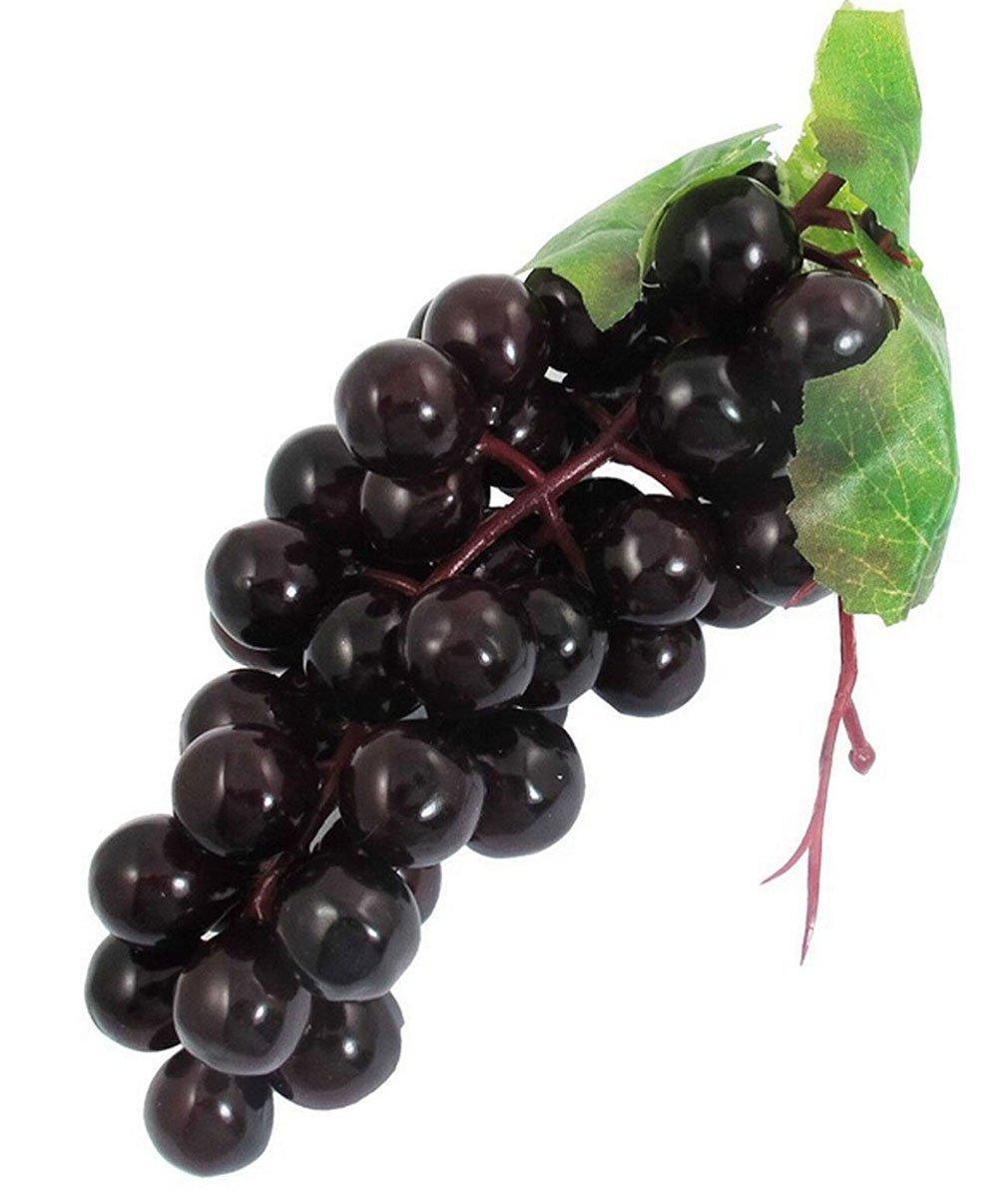 Ruichy grande fascio di artificiale decorativa frutta, uva, Verde Grifri