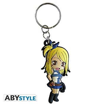 ABYstyle abykey185 Fairy Tail - Llavero Lucy: Amazon.es ...