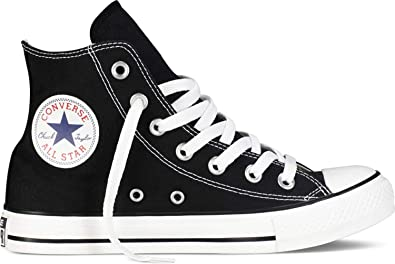 Converse Unisex Chuck Taylor All Star Hi Black Basketball Shoe 4.5 Men US /  6.5 Women US