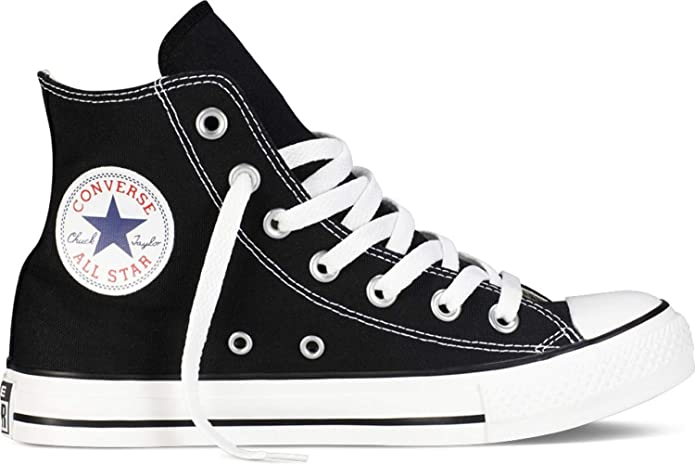 Converse Chuck Taylor All Star High Top Sneakers Damen Schwarz