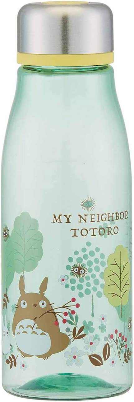 My Neighbor Totoro Clear Water Bottle (17oz) - Forest