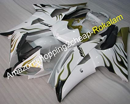 Amazon.com: Injection Fairing For Yamaha YZF600 R6 08-16 YZF ...