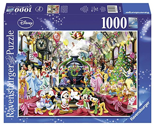 Christmas 1000 Piece Puzzle - Ravensburger Disney Christmas Jigsaw Puzzle (1000-Piece)