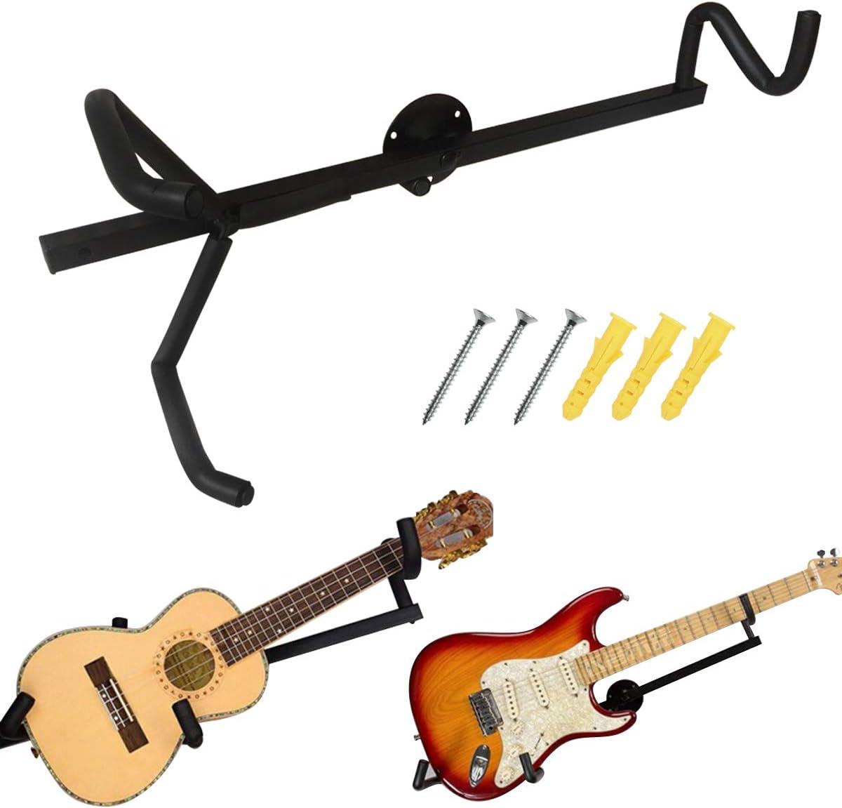 NEU Wandhalterung für E Gitarre Hook Stand Pink