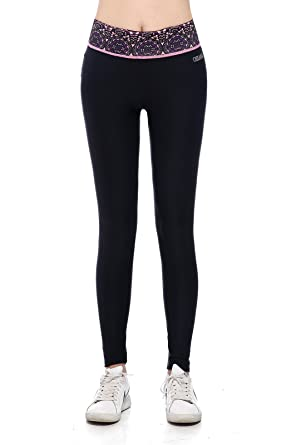 Amazon.com: Osiana Women's Active Running Yoga Pants Tights ...