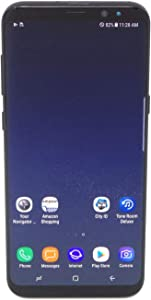 Samsung Galaxy S8+ G955U 64GB Unlocked GSM U.S. Version Smartphone w/ 12MP Camera - Midnight Black (Renewed)
